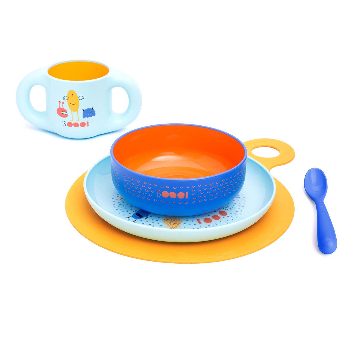 Coffret repas Coffret Repas Complet Booo - Bleu Coffret Repas Complet Booo - Bleu