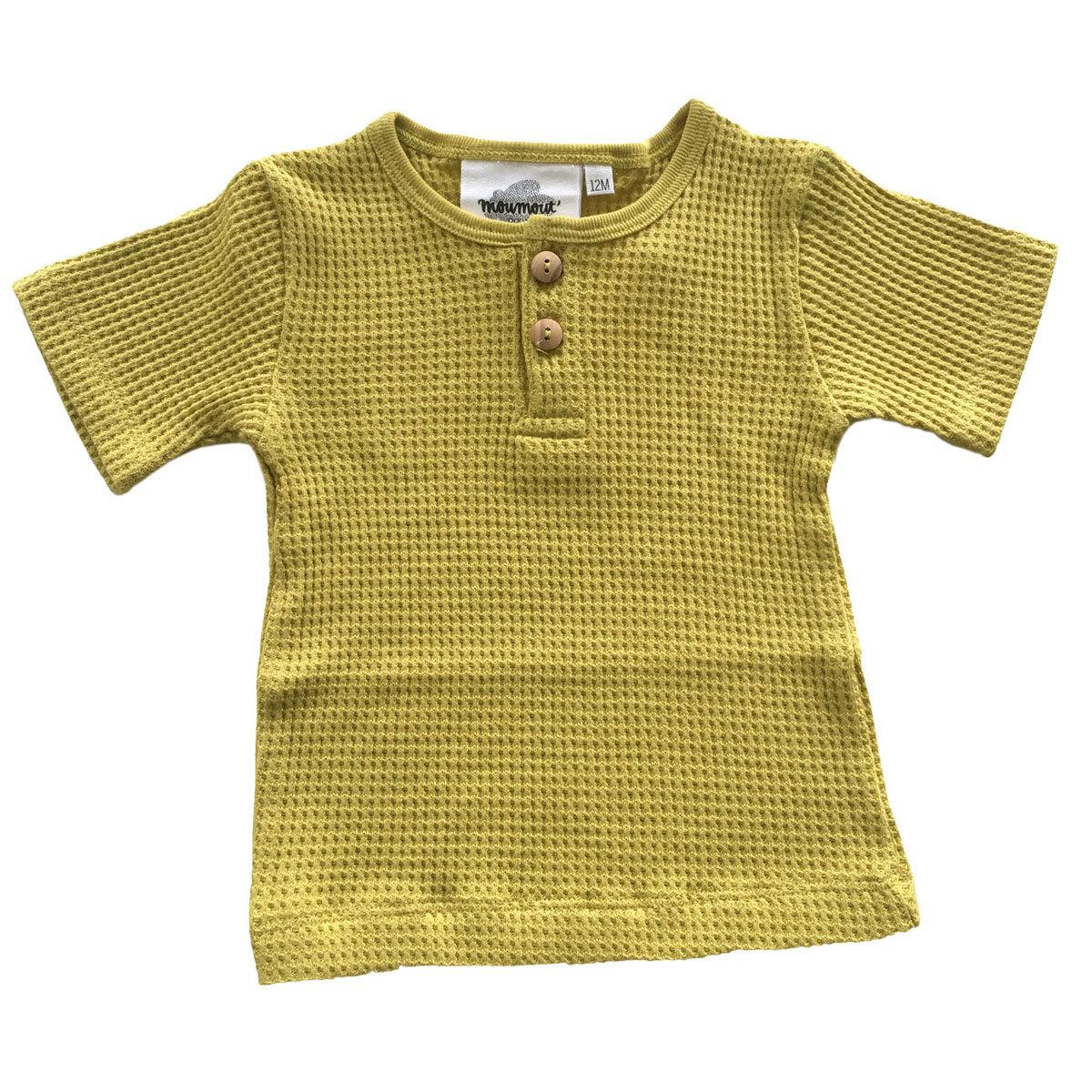 Hauts bébé T-Shirt Manches Courtes Noe Bee - Verveine - 3 mois T-Shirt Manches Courtes Noe Bee - Verveine - 3 mois