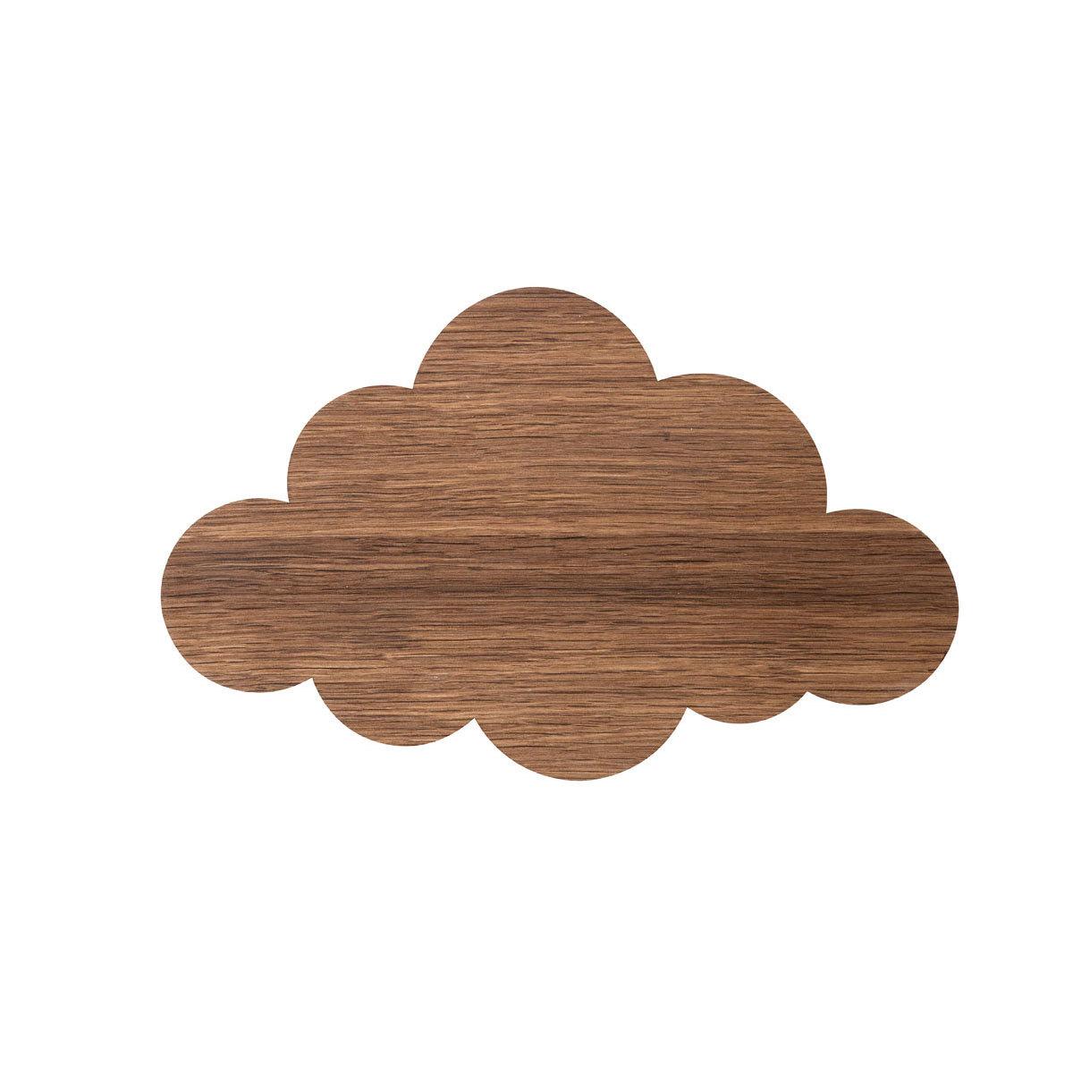 Suspension  décorative Applique Nuage - Chêne fumé Applique Nuage - Chêne fumé