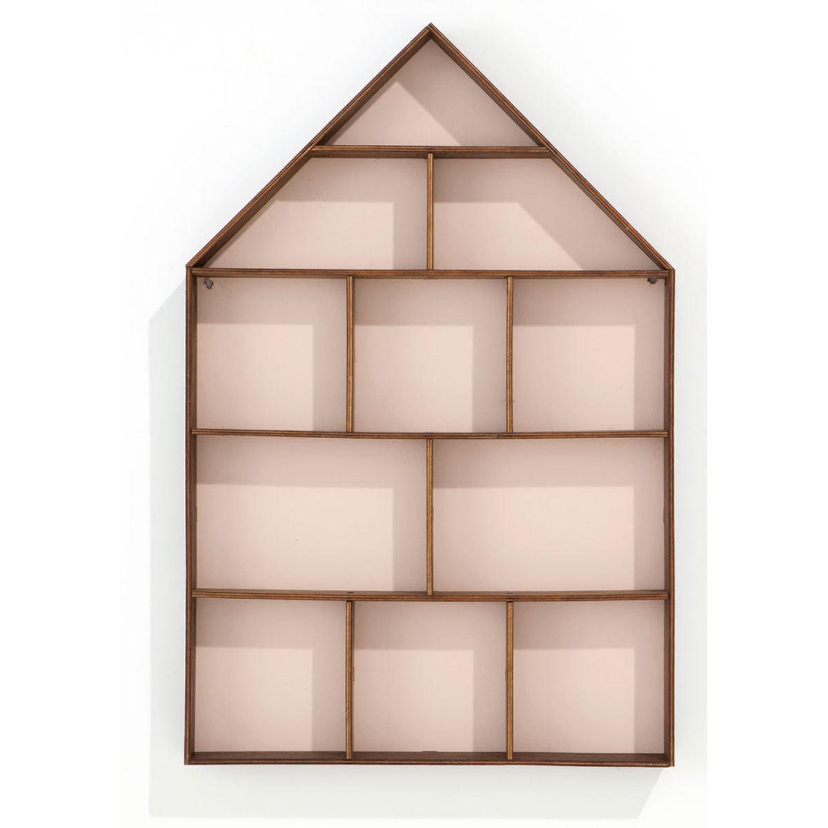 ferm living petite tag re murale the dorm rose. Black Bedroom Furniture Sets. Home Design Ideas