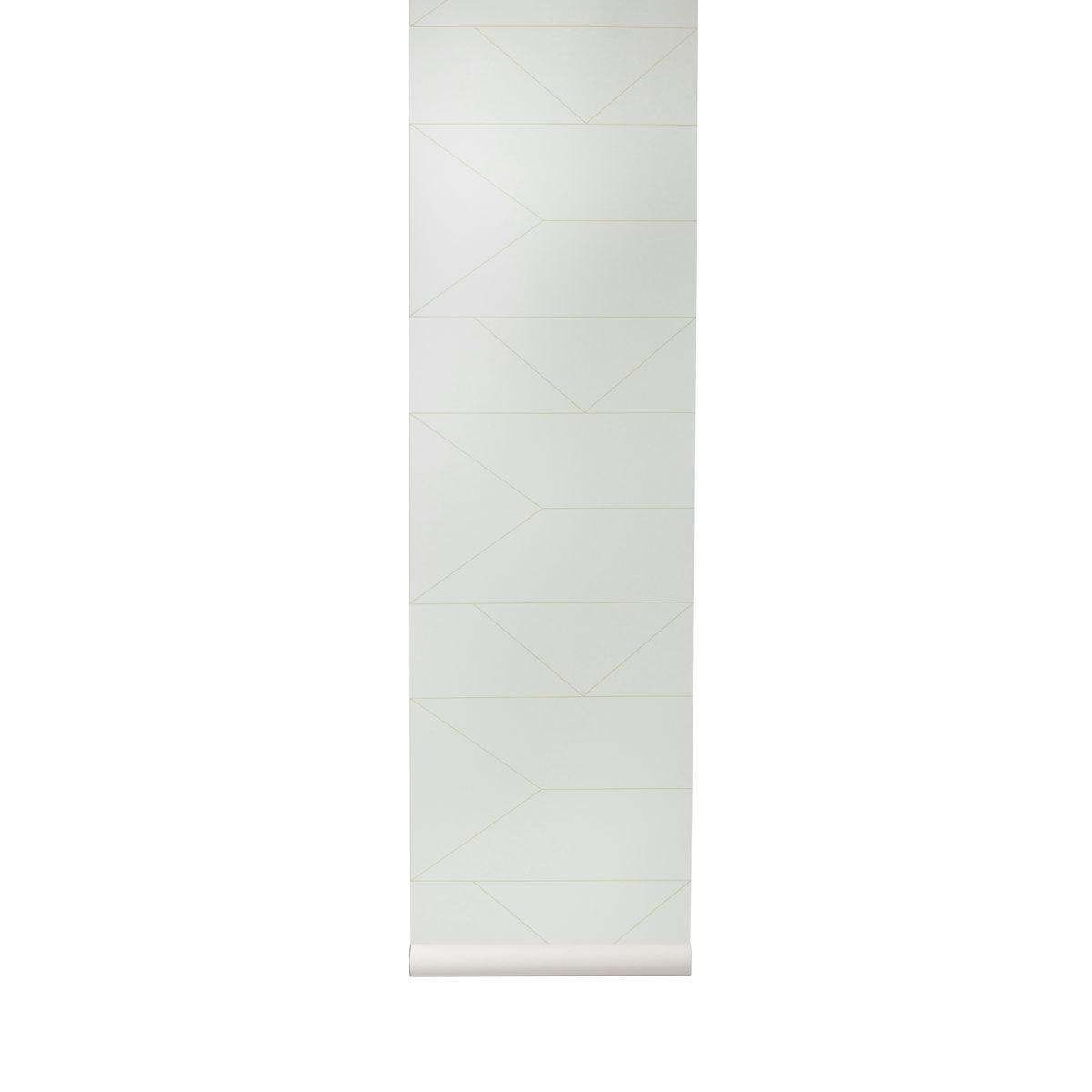 """Papier peint Papier Peint """"Lines"""" - Blanc cassé Papier Peint """"Lines"""" - Blanc cassé"""