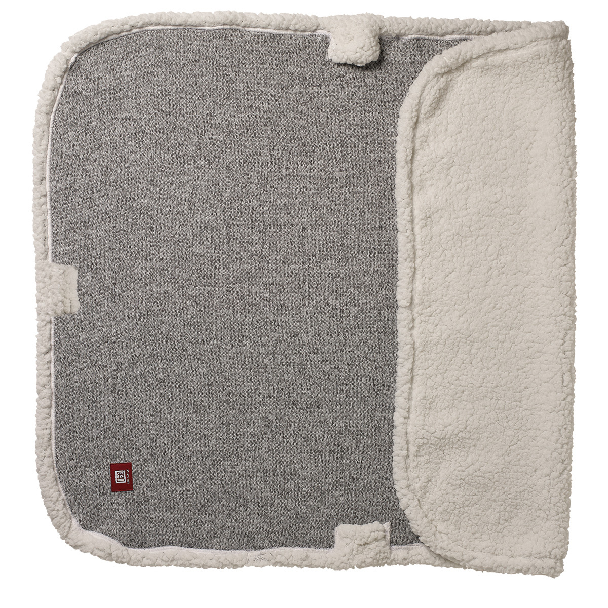 Linge de lit Couverture Multi-usages Douillet - Gris Chiné Couverture Multi-usages Douillet - Gris Chiné