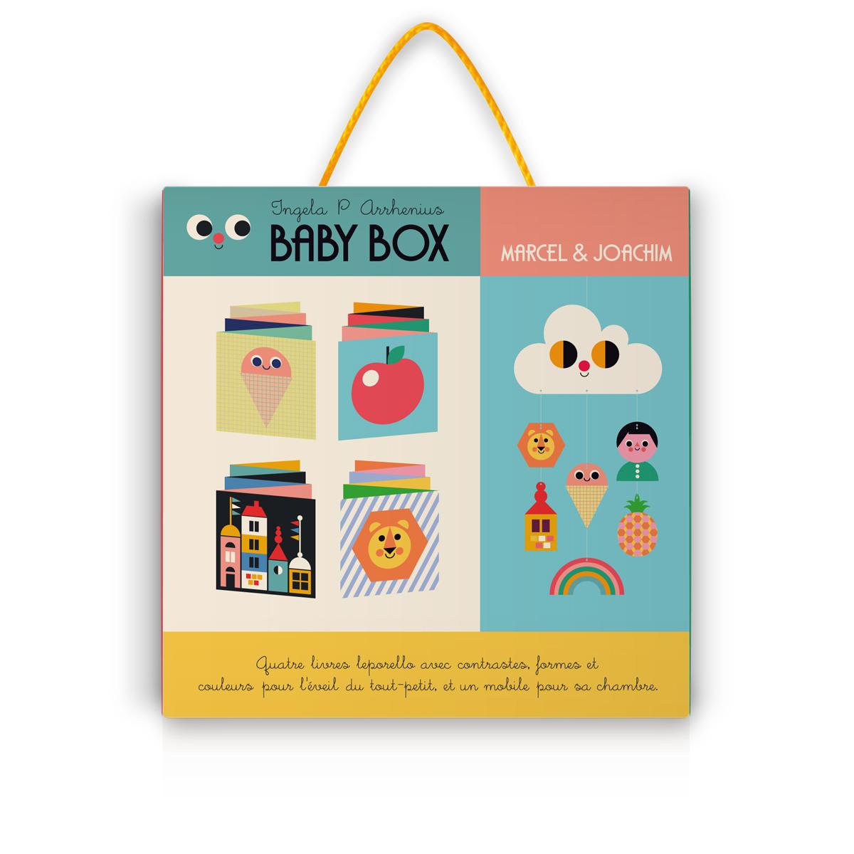 Livre & Carte Baby Box par Ingela P. Arrhenius Baby Box par Ingela P. Arrhenius