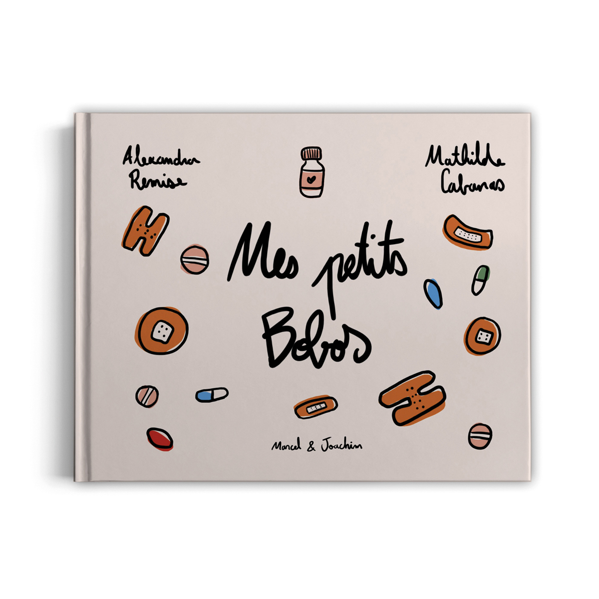 Livre & Carte Mes Petits Bobos par Alexandra Remise & Mathilde Cabanas Mes Petits Bobos par Alexandra Remise & Mathilde Cabanas
