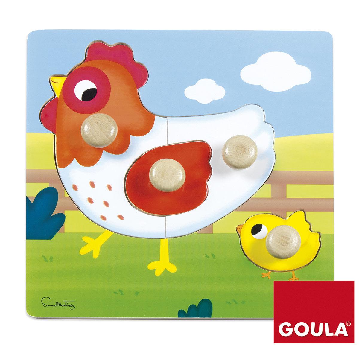 Mes premiers jouets Puzzle Poule 22 x 22 cm Puzzle Poule 22 x 22 cm