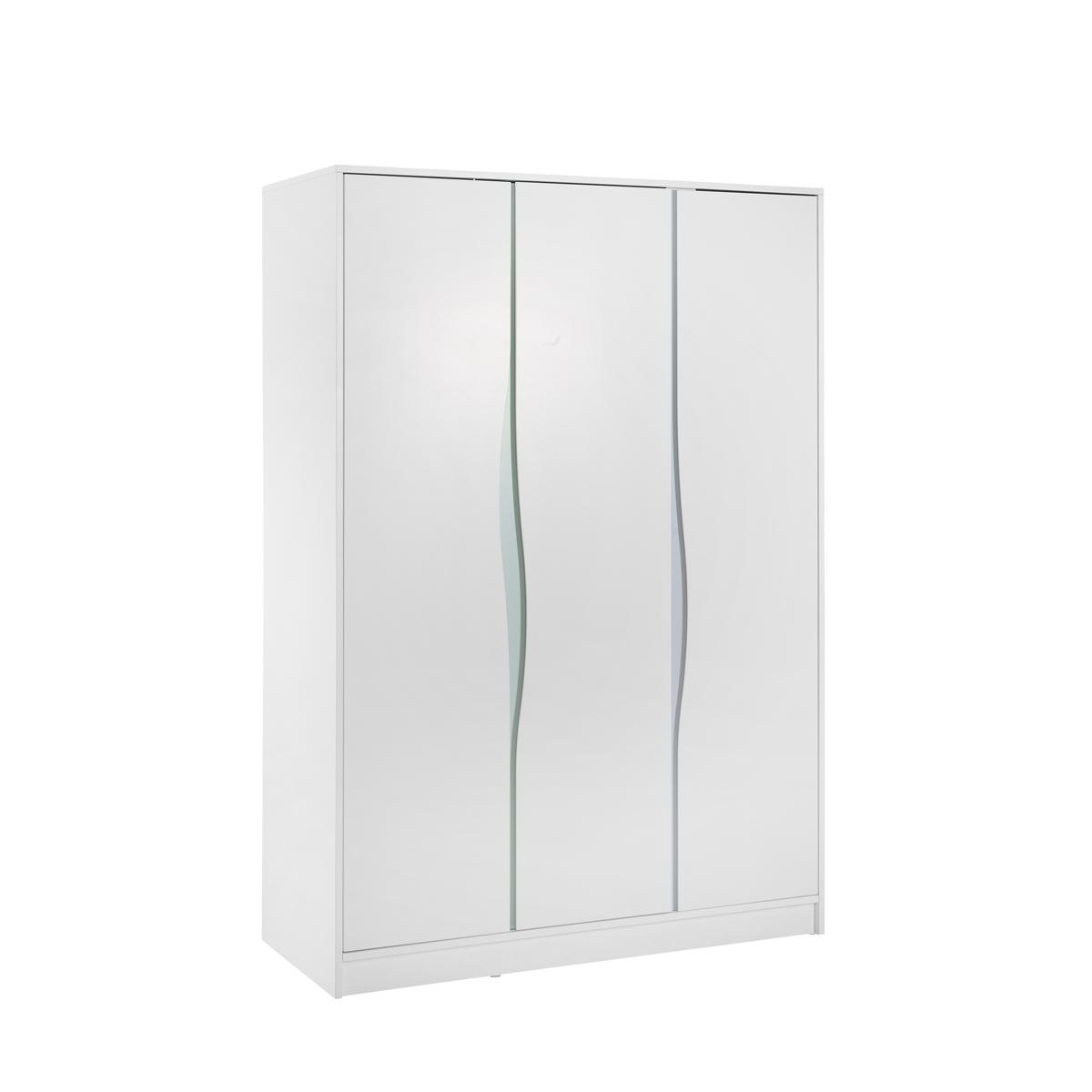 Geuther armoire 3 portes collection wave blanc pastel - L armoire de bebe ...