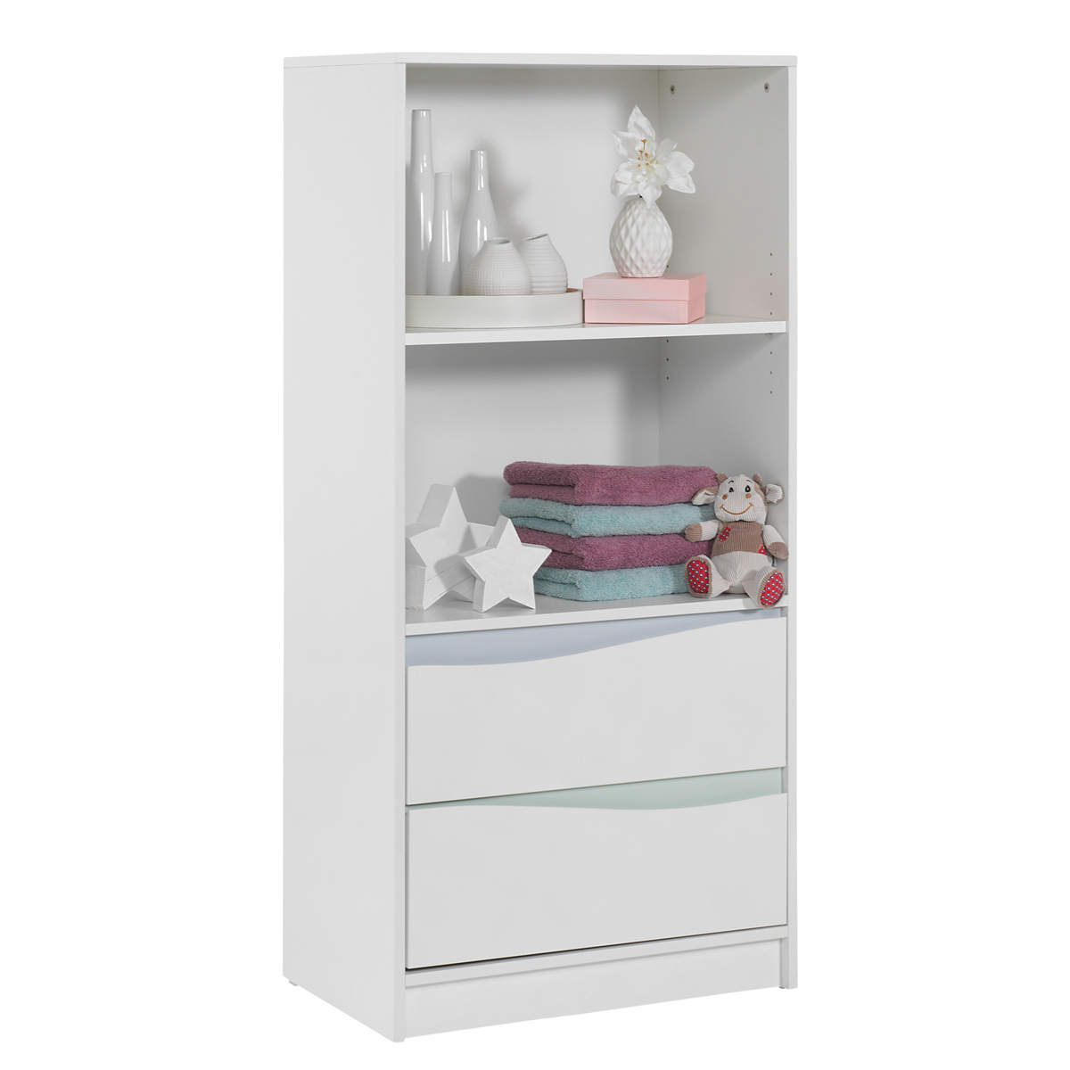 geuther chambre trio lit commode etag re haute collection wave blanc pastel chambre. Black Bedroom Furniture Sets. Home Design Ideas