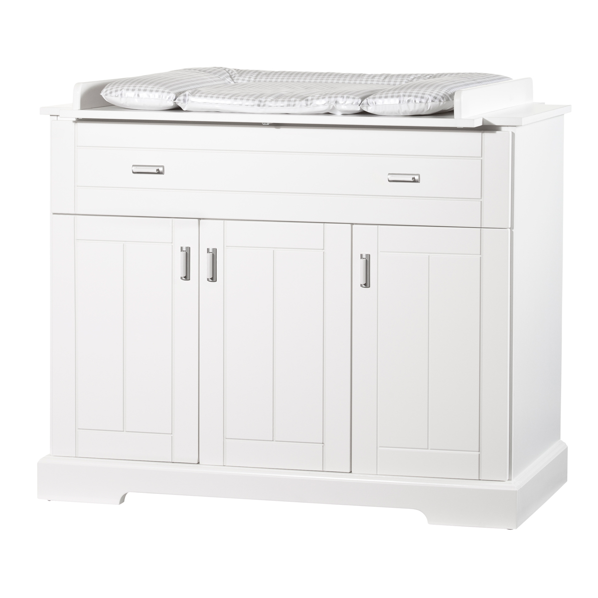 Commode avec plan langer collection cottage 1178wk - Plan a langer adaptable sur toute commode ...