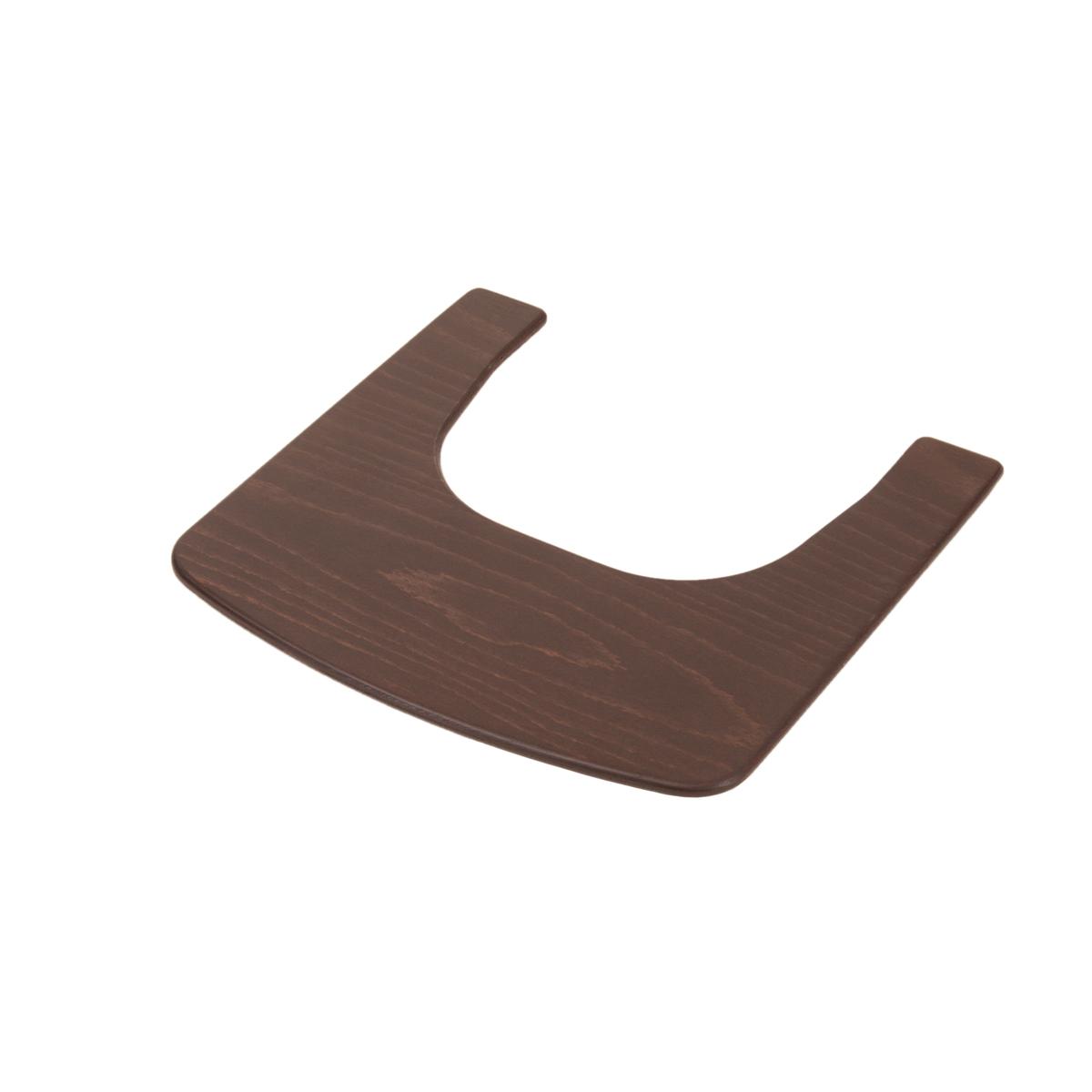 Chaise haute Tablette pour Chaise Haute Syt - Wengé Tablette pour Chaise Haute Syt - Wengé