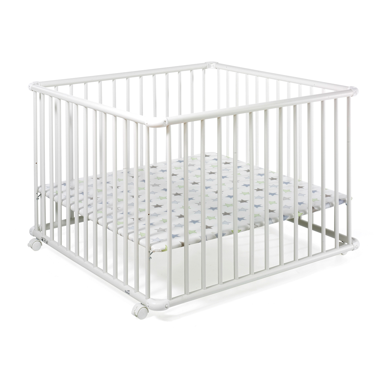 geuther parc belami grand mod le 102 x 102 cm blanc. Black Bedroom Furniture Sets. Home Design Ideas