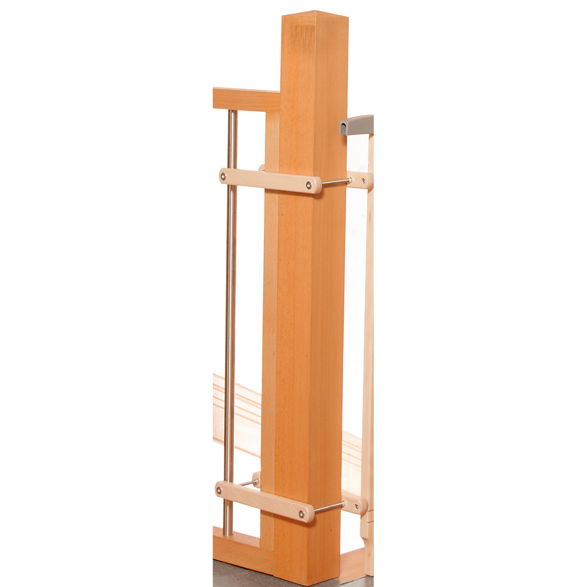 Geuther adaptateur escalier naturel barri re de for Barriere securite escalier helicoidal