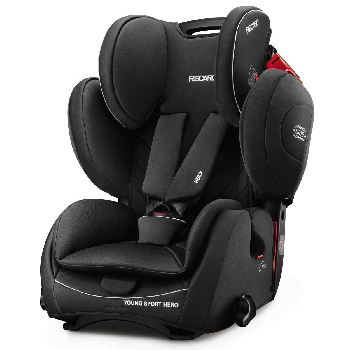 recaro si ge auto groupe 1 2 3 young sport hero perfomance black si ge auto et coque recaro. Black Bedroom Furniture Sets. Home Design Ideas