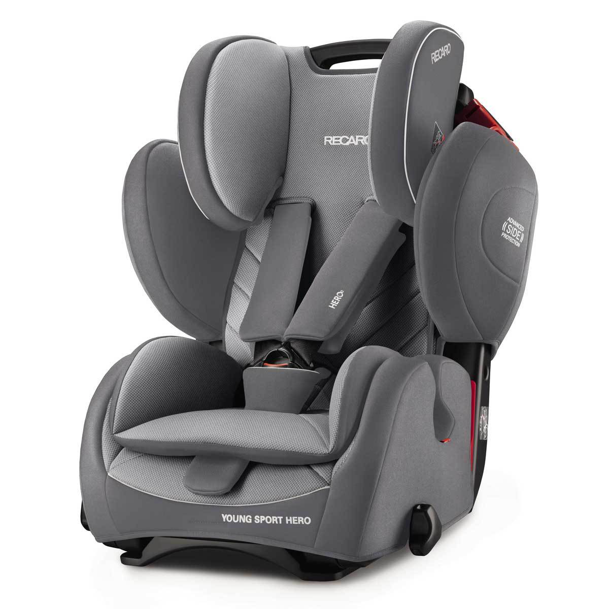 recaro si ge auto young sport hero groupe 1 2 3 aluminium grey si ge auto et coque recaro. Black Bedroom Furniture Sets. Home Design Ideas
