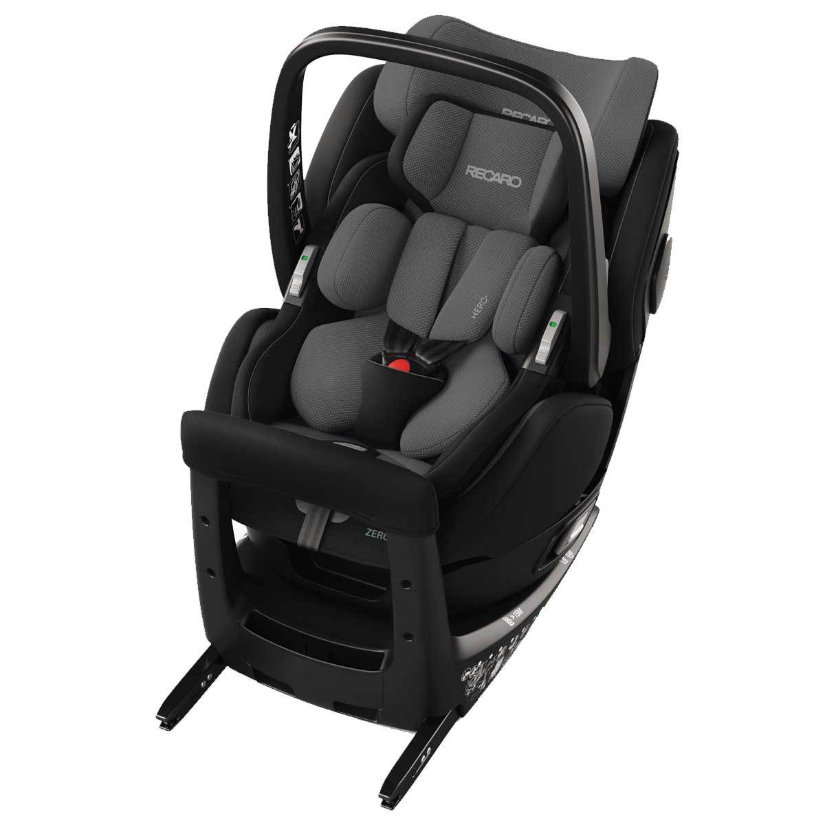 recaro si ge auto zero 1 elite i size groupe 0 1 carbon black si ge auto et coque recaro. Black Bedroom Furniture Sets. Home Design Ideas