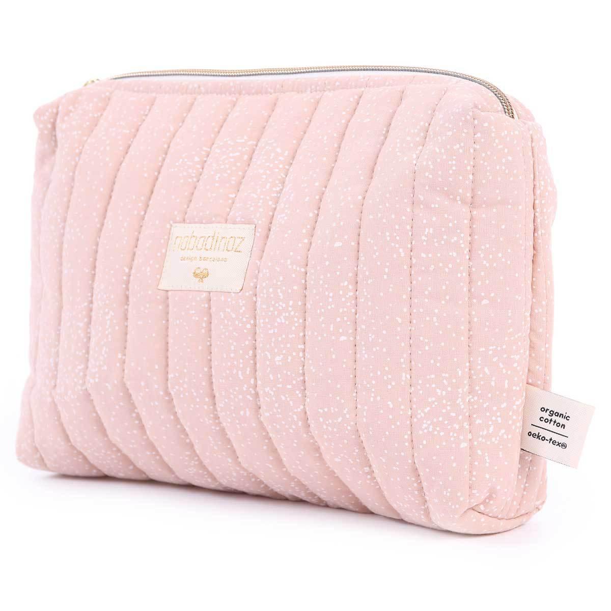 Trousse Trousse de Toilette Travel - White Bubble & Misty Pink Trousse de Toilette Travel - White Bubble & Misty Pink