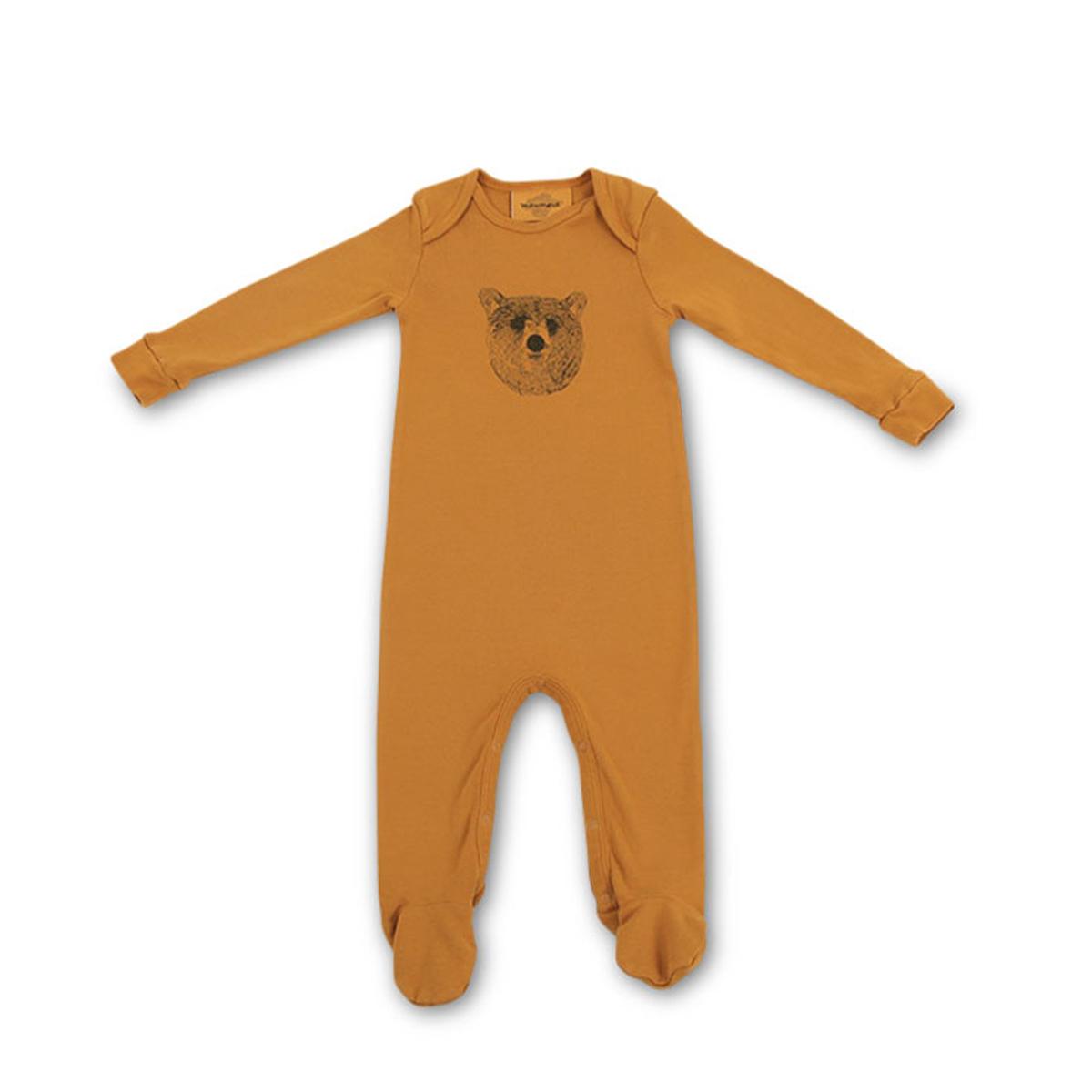 0d90620c57ab1 Body   Pyjama Pyjama Bobo - Baloo   Moutarde - 3 Mois Pyjama Bobo - Baloo