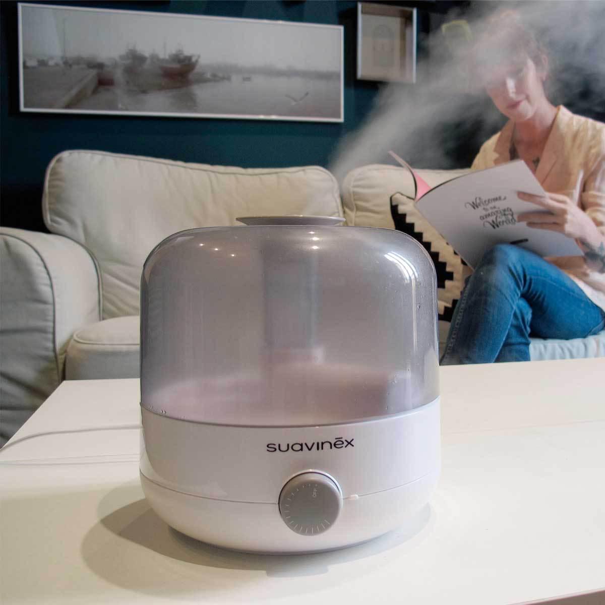 suavinex humidificateur d 39 air ultrasons s curit domestique suavinex sur l 39 armoire de b b. Black Bedroom Furniture Sets. Home Design Ideas