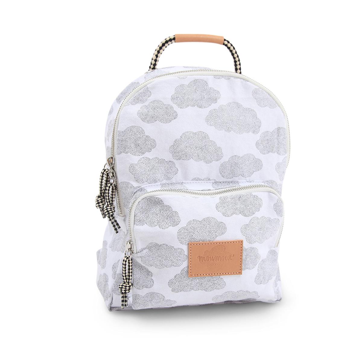 moumout sac dos backpack taille s nuages bagagerie enfant moumout sur l 39 armoire de b b. Black Bedroom Furniture Sets. Home Design Ideas
