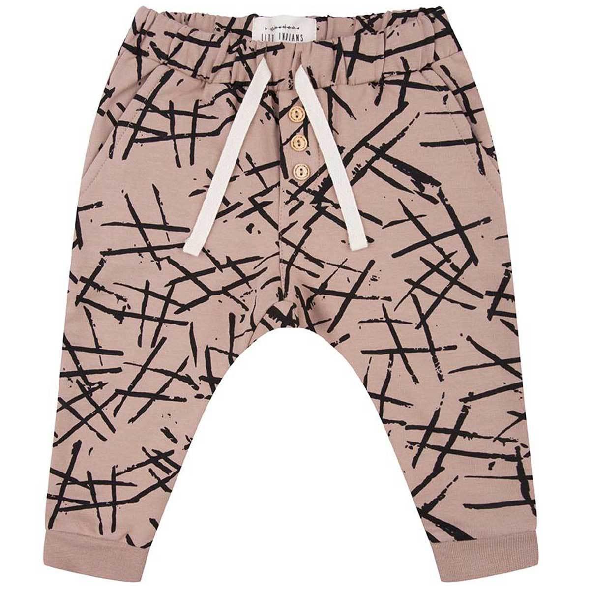 Bas Bébé Pantalon Hashtag - Warm Taupe - 9/12 mois