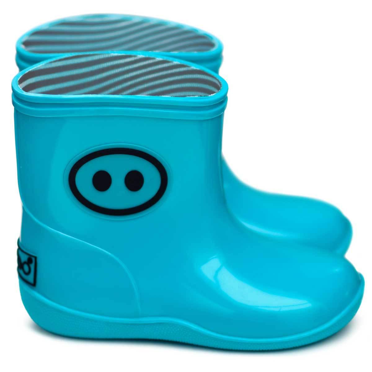 Chaussons & Chaussures Bottines Kawaï Bleu - 21/22 Bottines Kawaï Bleu - 21/22