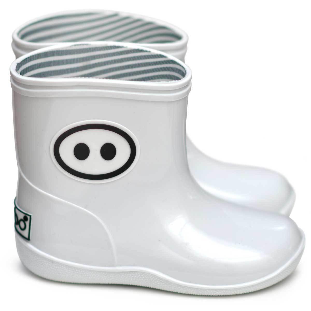 Chaussons & Chaussures Bottines Kawaï Blanc - 21/22 Bottines Kawaï Blanc - 21/22