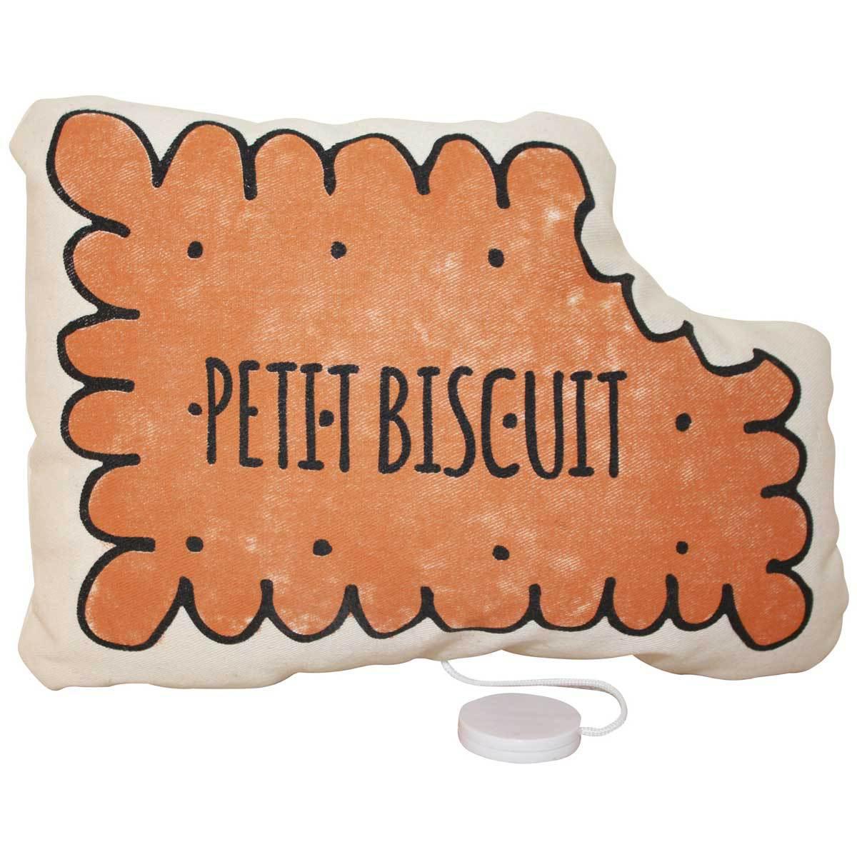 annabel kern coussin musical petit biscuit coussin. Black Bedroom Furniture Sets. Home Design Ideas