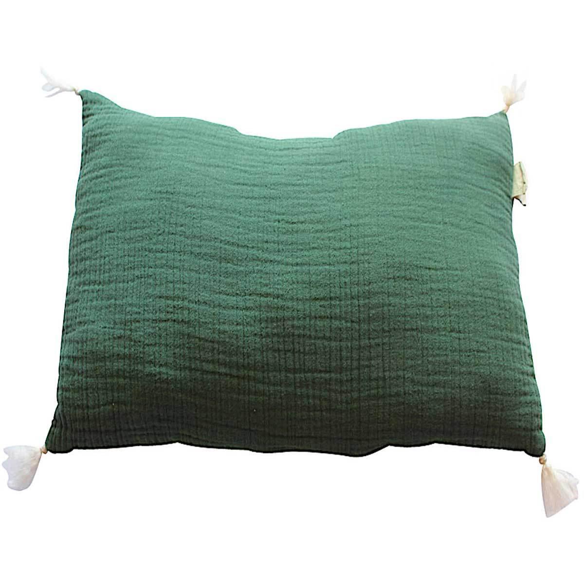 annabel kern petit coussin d houssable chlorophylle coussin annabel kern sur l 39 armoire de b b. Black Bedroom Furniture Sets. Home Design Ideas