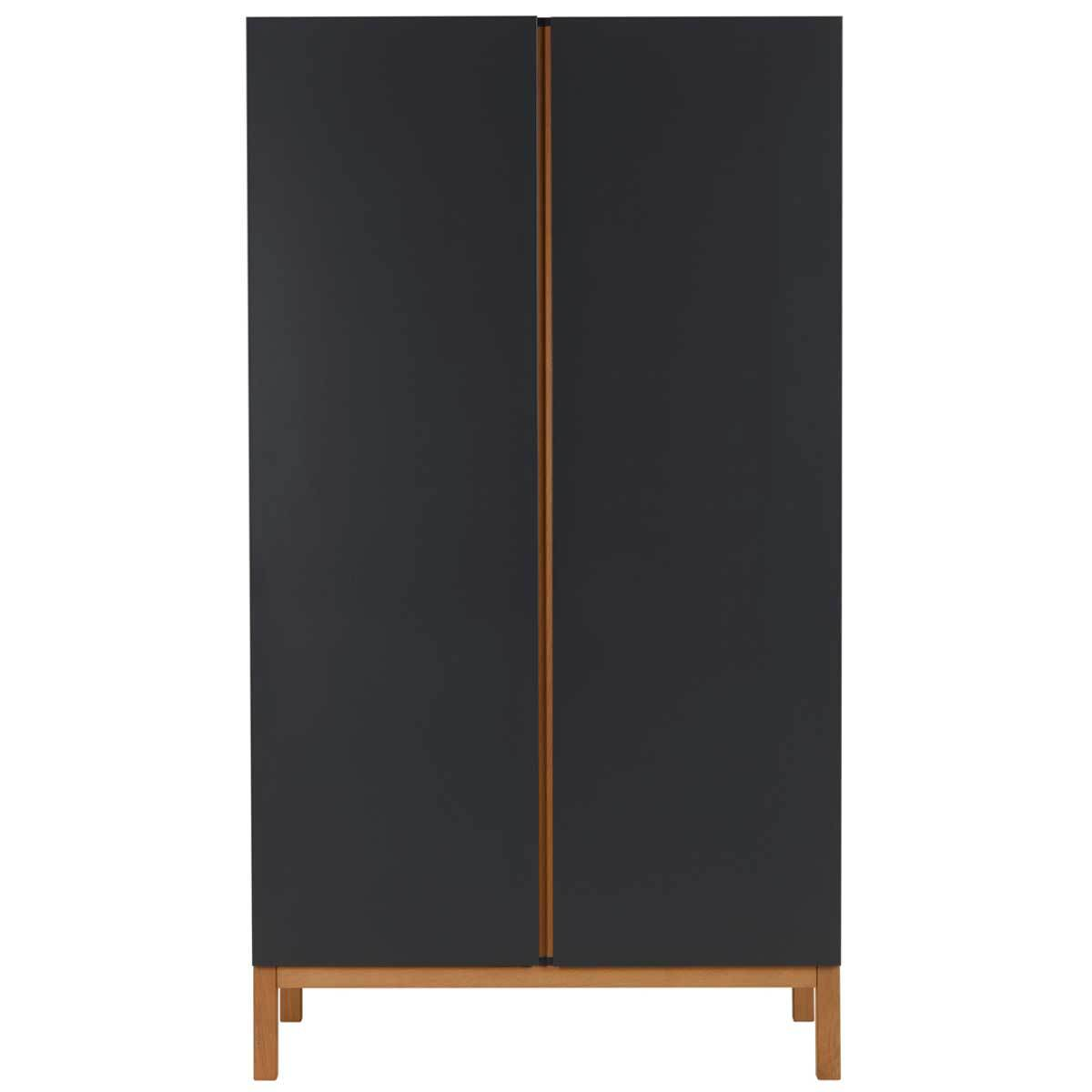 quax armoire 2 portes indigo moonshadow armoire quax. Black Bedroom Furniture Sets. Home Design Ideas
