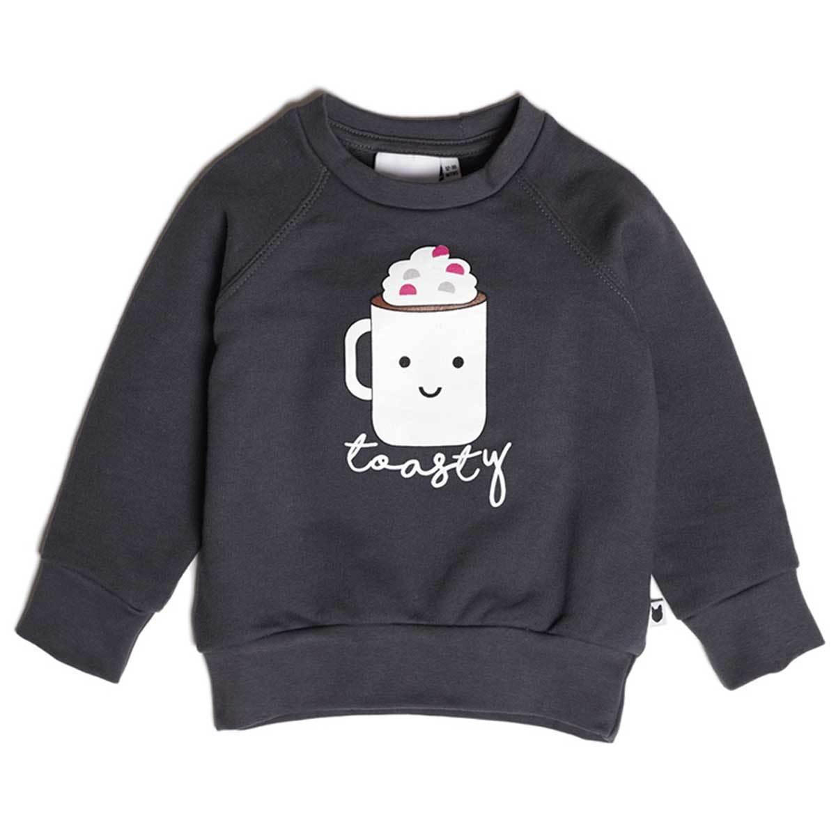 Hauts bébé Sweatshirt Toasty Loopback 6/12 mois Sweatshirt Toasty Loopback 6/12 mois