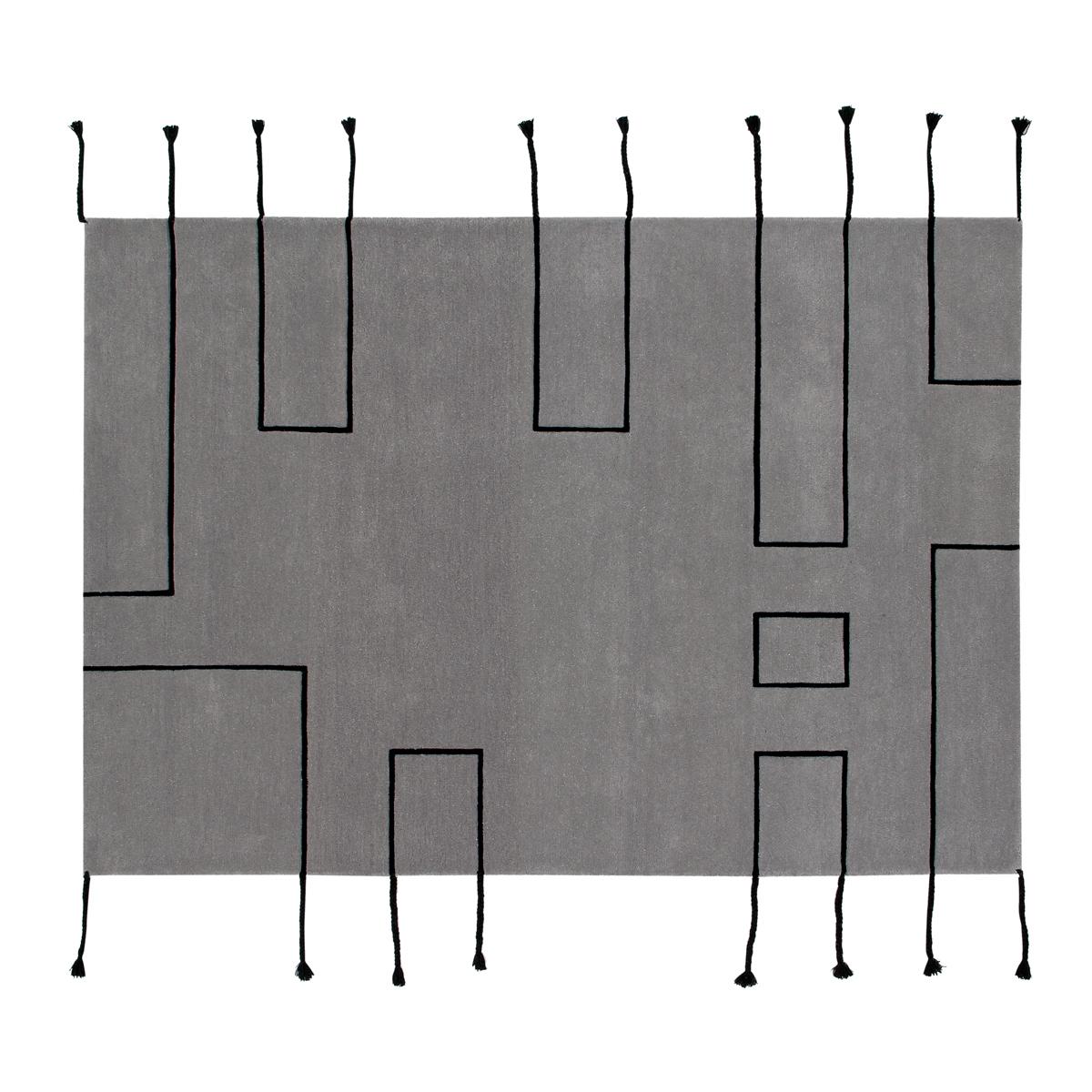 Tapis Tapis Lavable Nordic Line Gris - 170 x 240 cm Tapis Lavable Nordic Line Gris - 170 x 240 cm