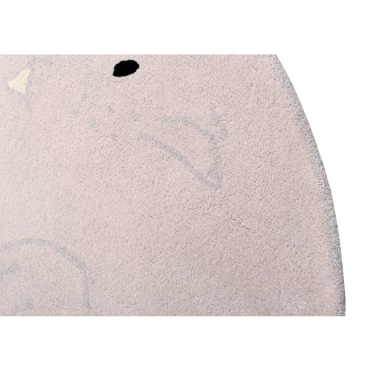 lorena canals tapis lavable chubby le lapin 150 x 200. Black Bedroom Furniture Sets. Home Design Ideas