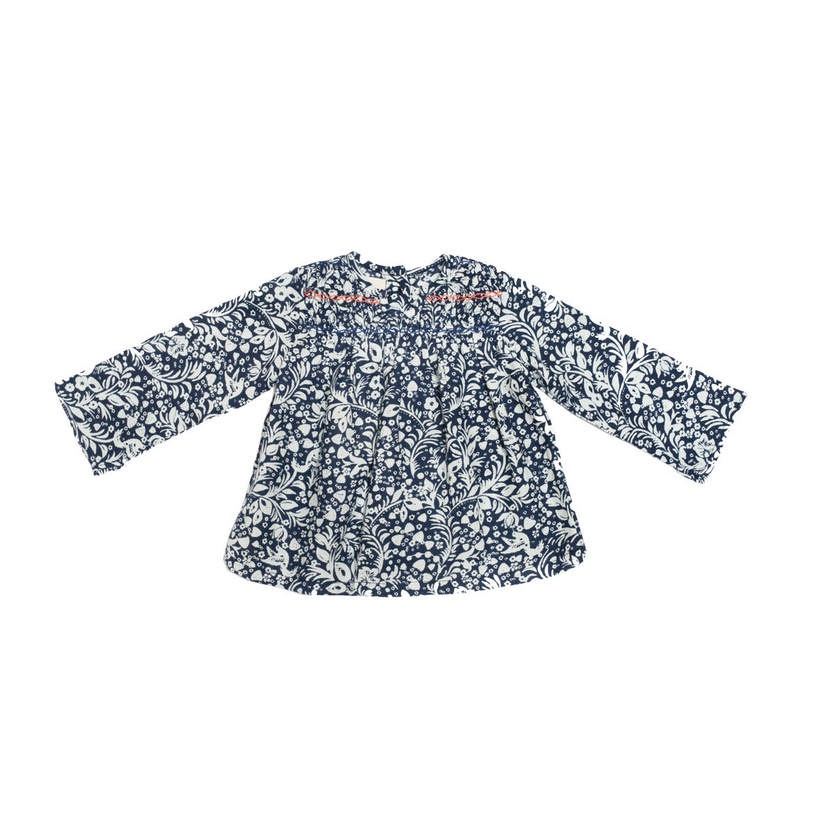 Hauts bébé Blouse Smocky - Strawberry Flowers - 6/9 mois Blouse Smocky - Strawberry Flowers - 6/9 mois