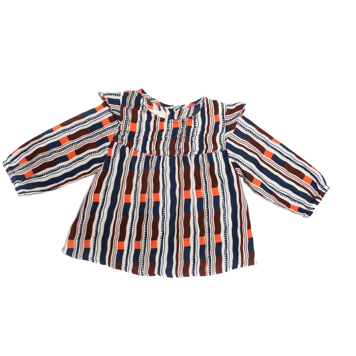 Hauts bébé Blouse Louisa - Russian Stripes - 12/18 mois Blouse Louisa - Russian Stripes - 12/18 mois