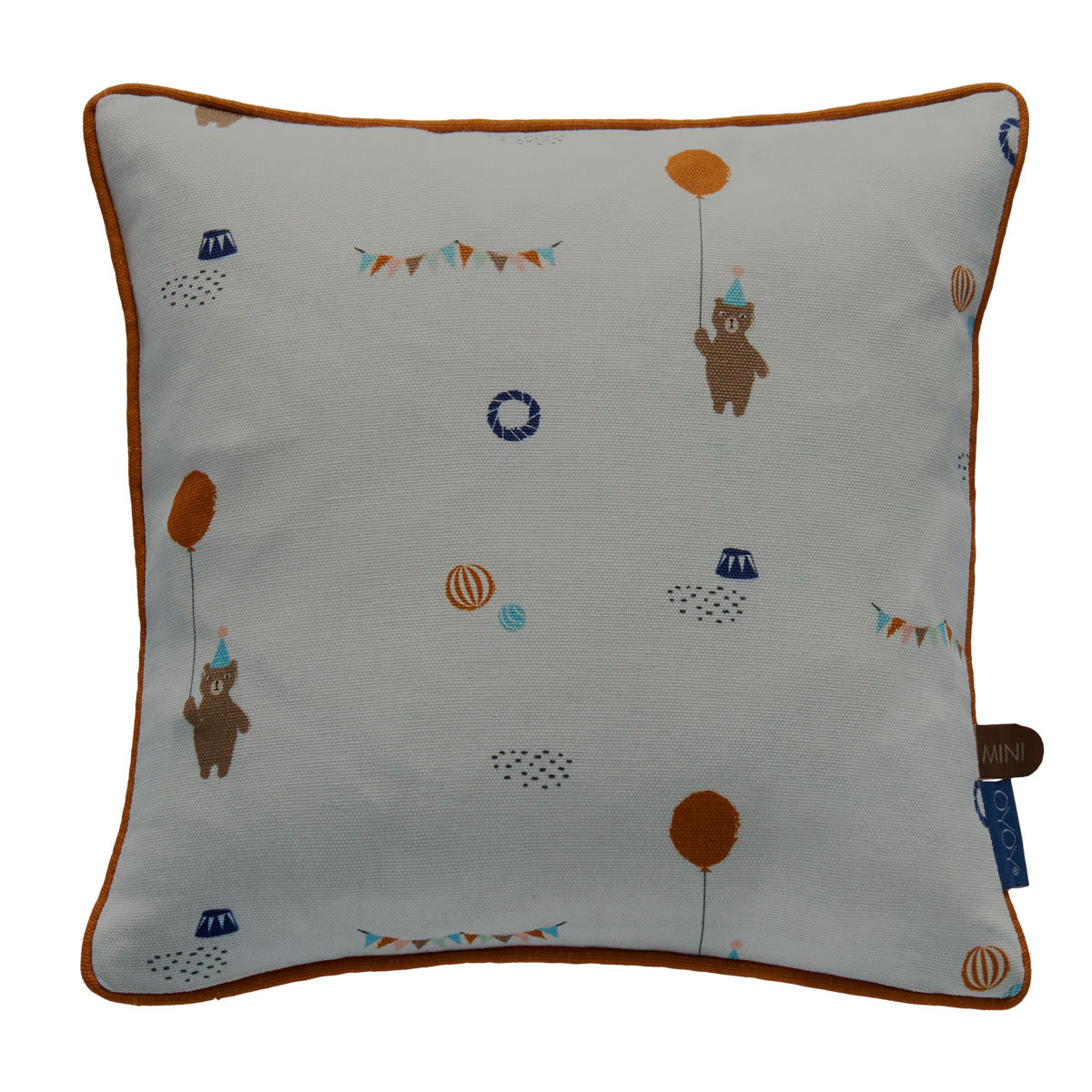 Coussin Coussin Happy Circus - Gris Coussin Happy Circus - Gris