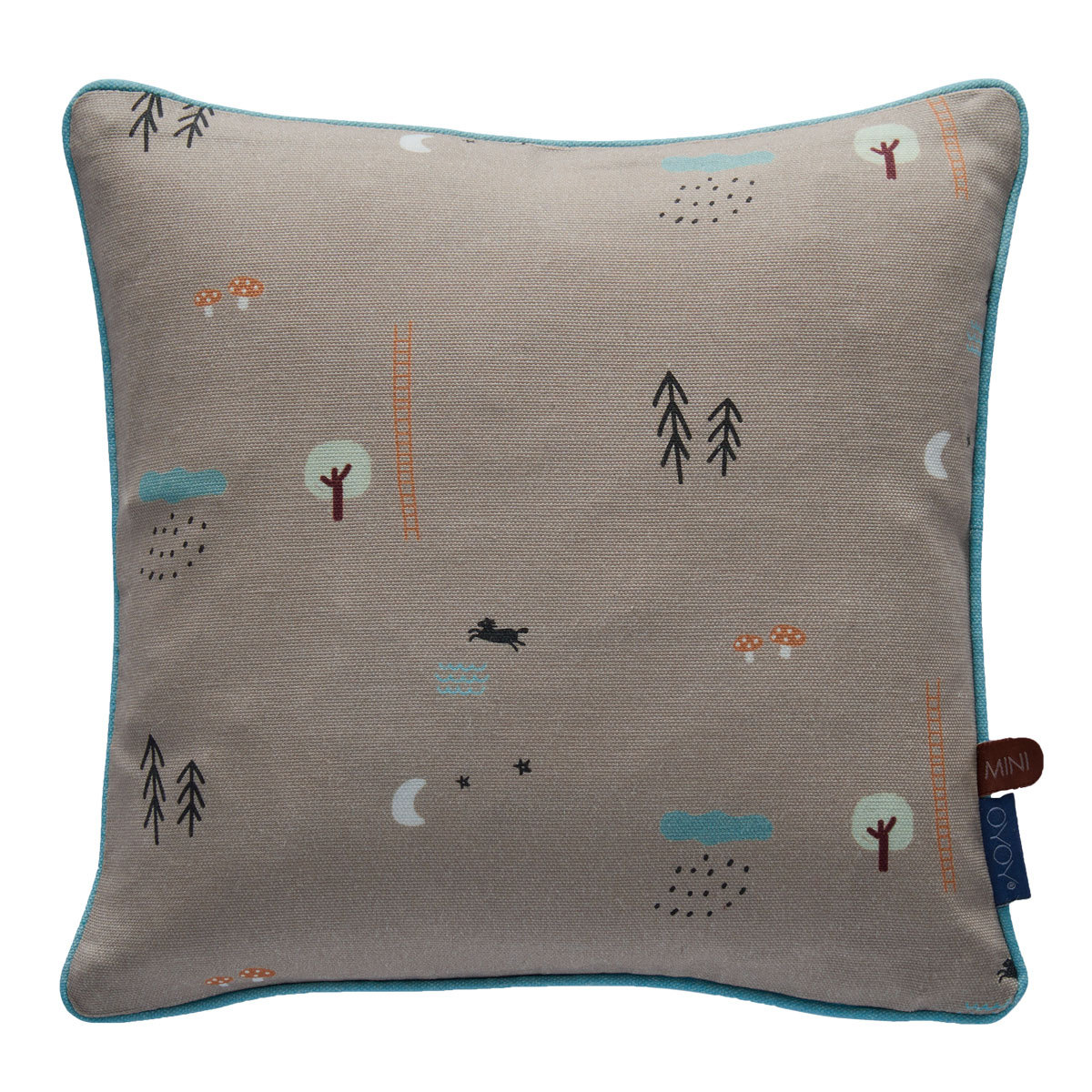 Coussin Coussin Happy Forrest - Marron Coussin Happy Forrest - Marron