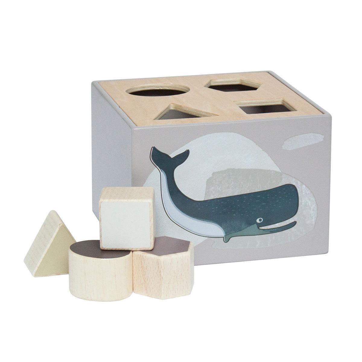 Mes premiers jouets Cube à formes Artics - Gris Cube à formes Artics - Gris