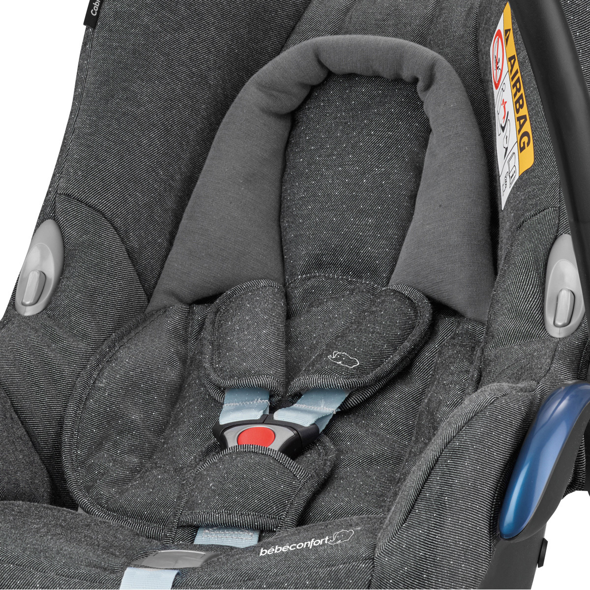 b b confort si ge auto cabriofix isofix groupe 0 sparkling grey si ge auto et coque b b. Black Bedroom Furniture Sets. Home Design Ideas