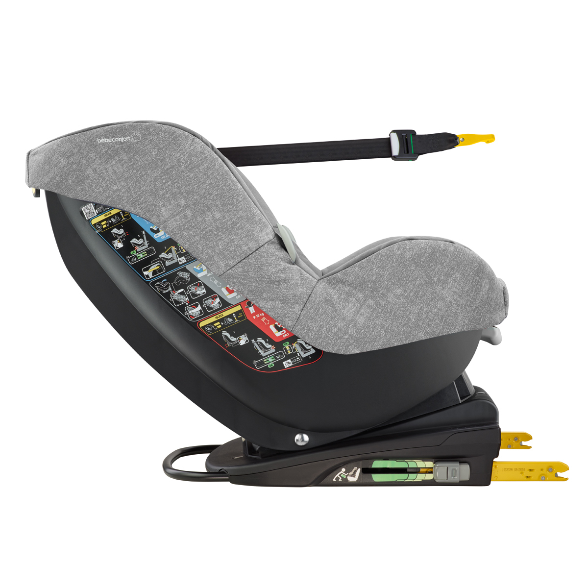 b b confort si ge auto isofix milofix groupe 0 1 nomad grey si ge auto et coque b b confort. Black Bedroom Furniture Sets. Home Design Ideas