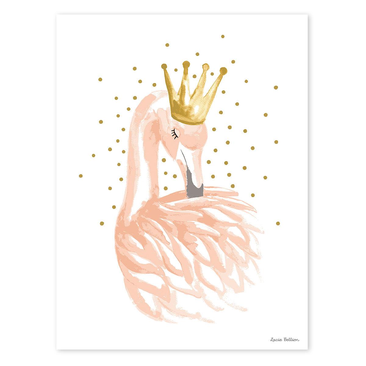 Affiche & poster Flamingo - Affiche Romantique Flamant Flamingo - Affiche Romantique Flamant