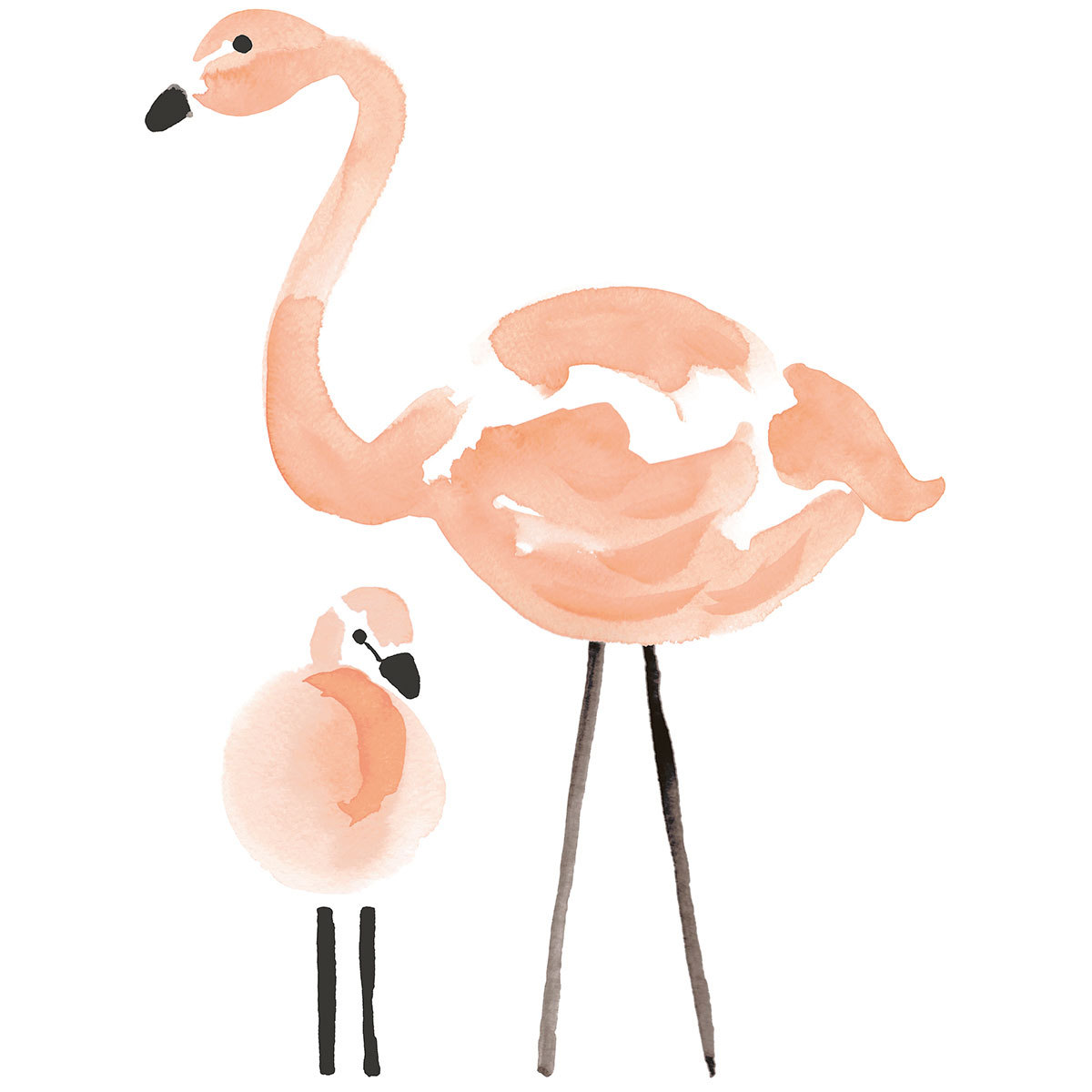 Sticker Flamingo - Stickers XL - Flamants Roses Flamingo - Stickers XL - Flamants Roses