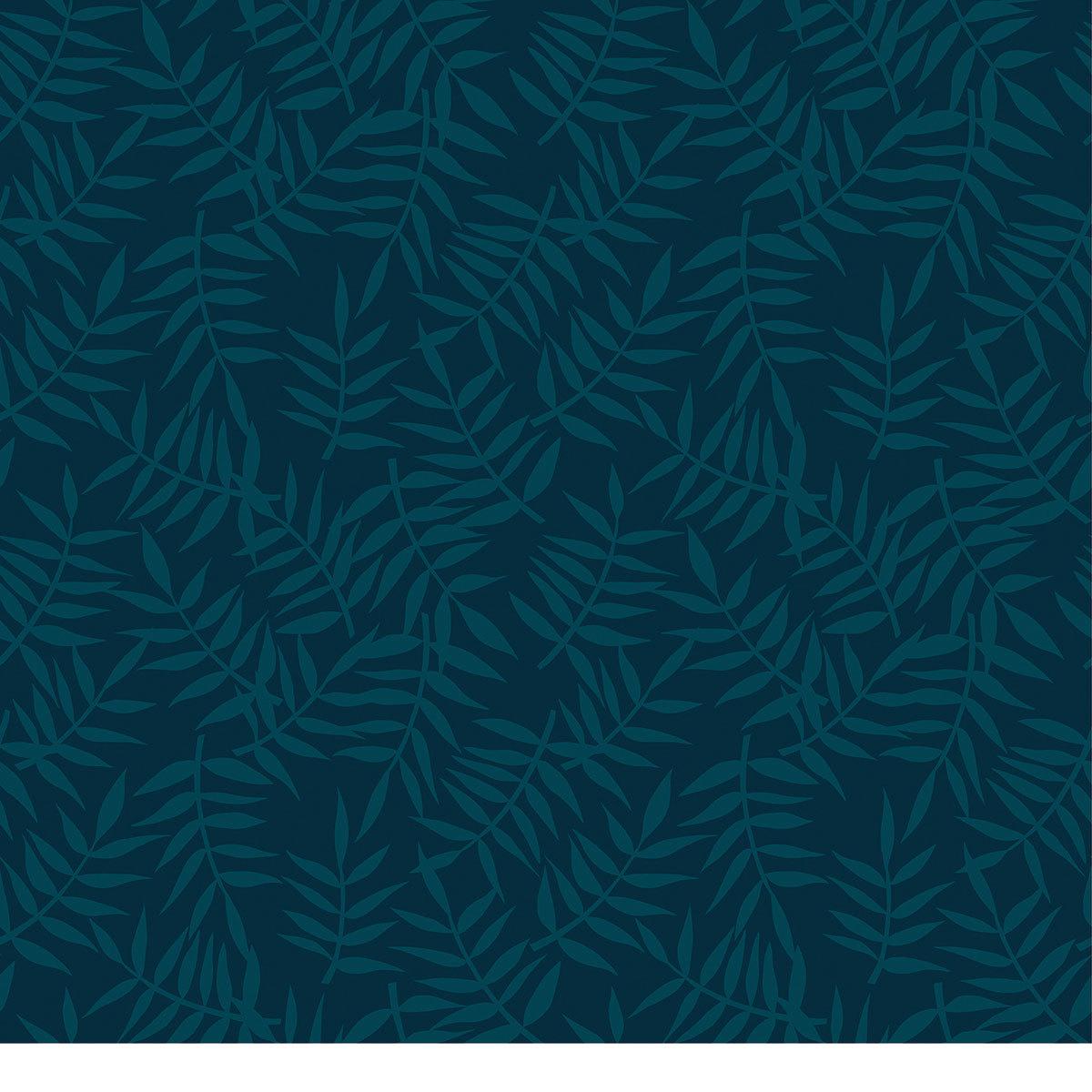 lilipinso tropica papier peint motif feuillage tropical bleu papier peint lilipinso sur l. Black Bedroom Furniture Sets. Home Design Ideas