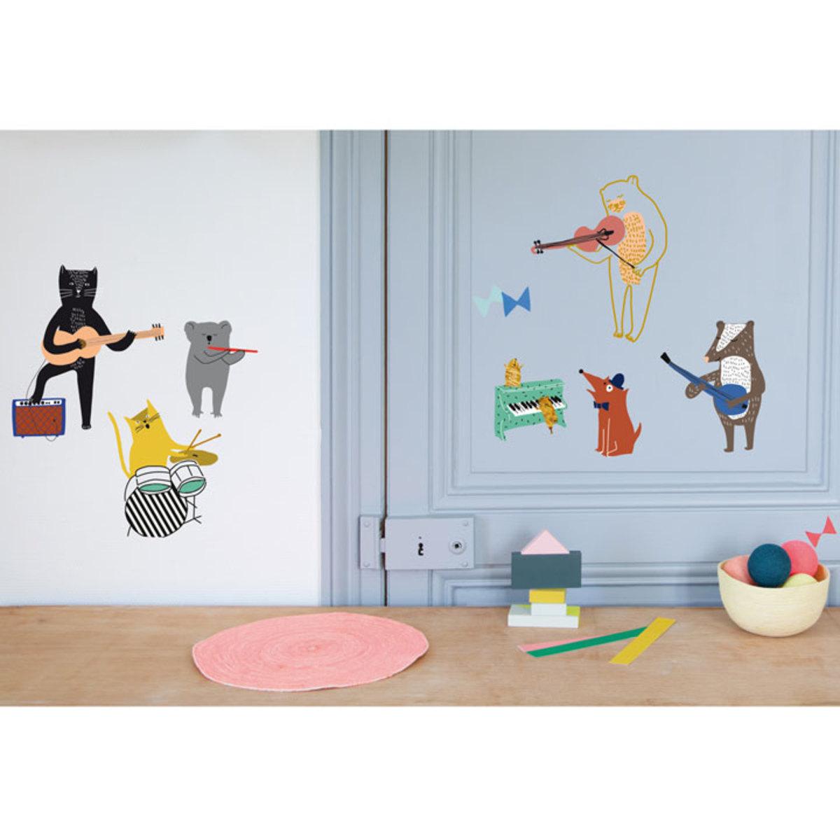 mimi 39 lou sticker let 39 s rock sticker mimi 39 lou sur l. Black Bedroom Furniture Sets. Home Design Ideas