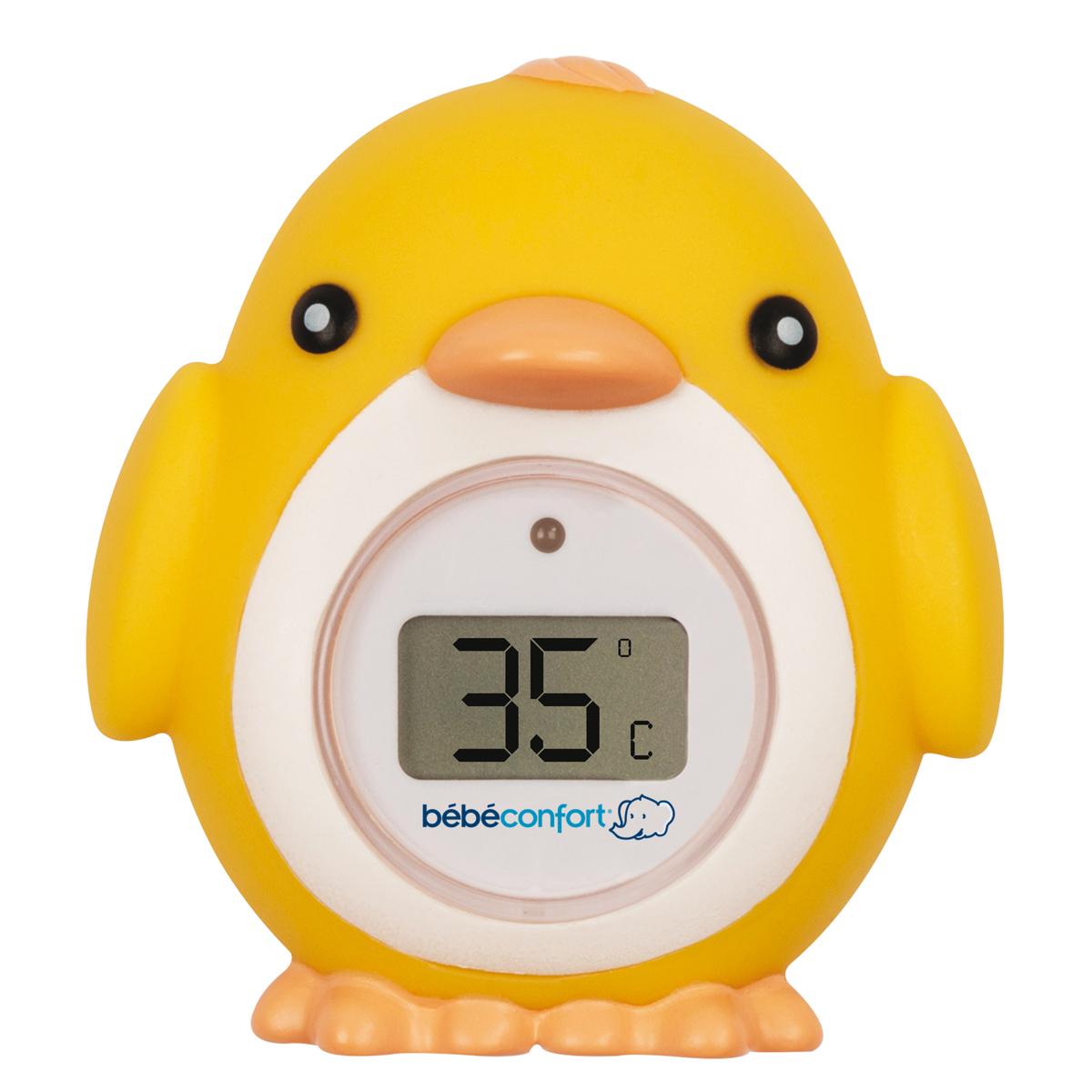 Thermomètre de bain Thermomètre de Bain électronique Poussin