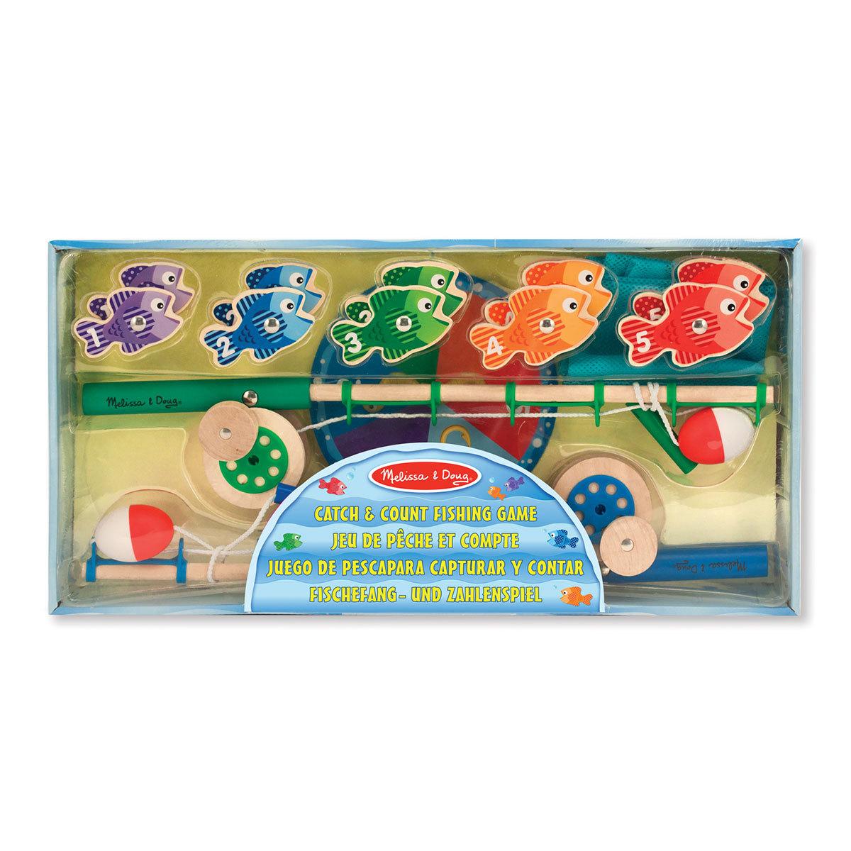Mes premiers jouets Jeu de Pêche et Compte Jeu de Pêche et Compte