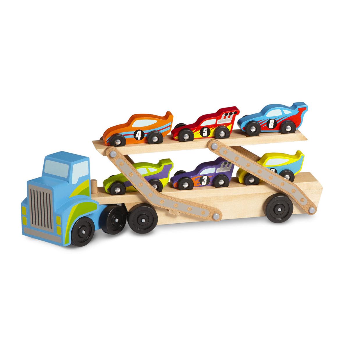 Mes premiers jouets Porte-Voitures de Course Géant Porte-Voitures de Course Géant