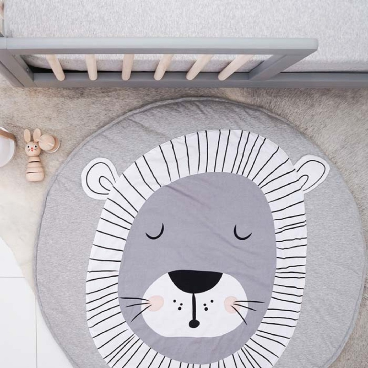 Mister fly tapis de jeu lion tapis eveil mister fly for Tapis enfant fly