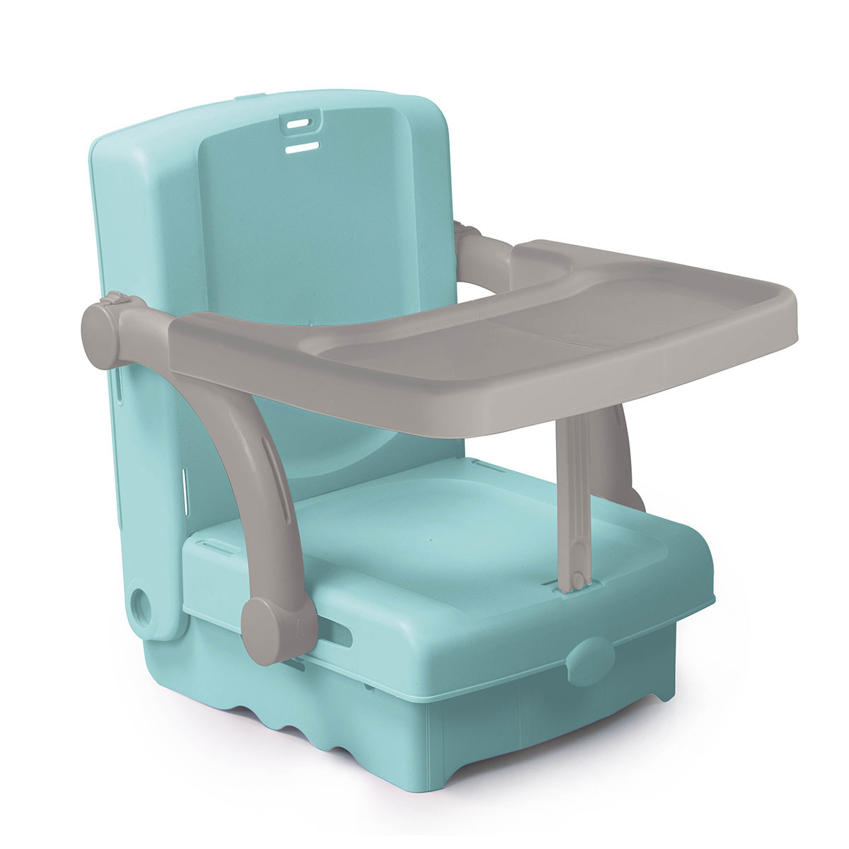 Buki france rehausseur chaise haute vert gris chaise - Rehausseur de chaise auchan ...