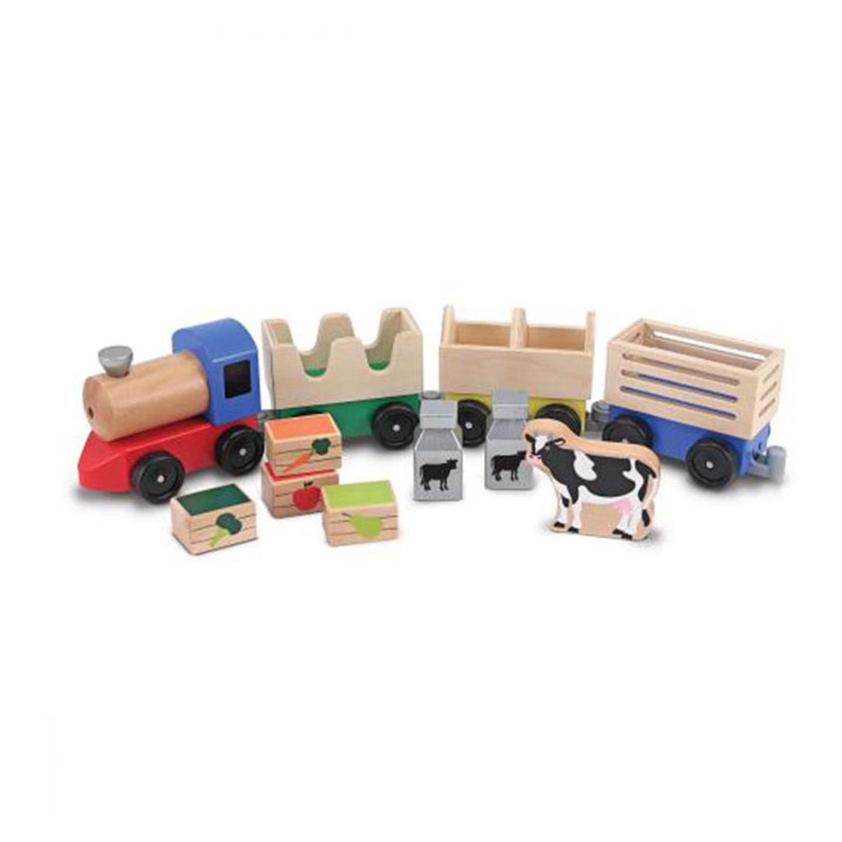 Mes premiers jouets Train Agricole Train Agricole