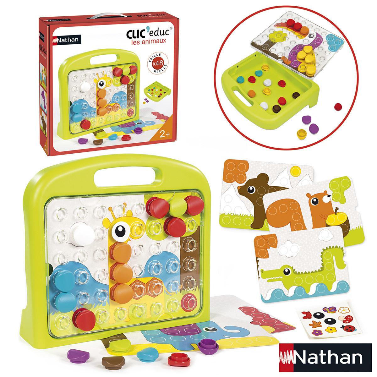 Mes premiers jouets Clic' educ Animaux Clic' educ Animaux