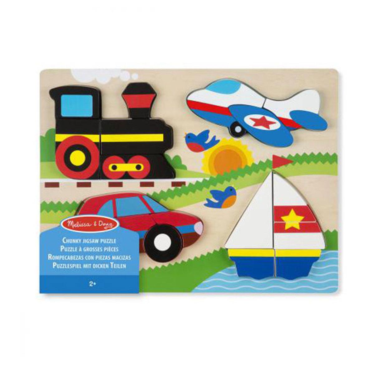 Mes premiers jouets Puzzle Grosses Pièces - Véhicules Puzzle Grosses Pièces - Véhicules